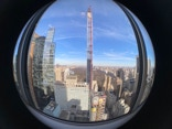 A fisheye view of Central Park, NYC.