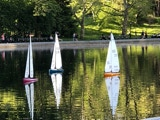 Sailboats in Central Park